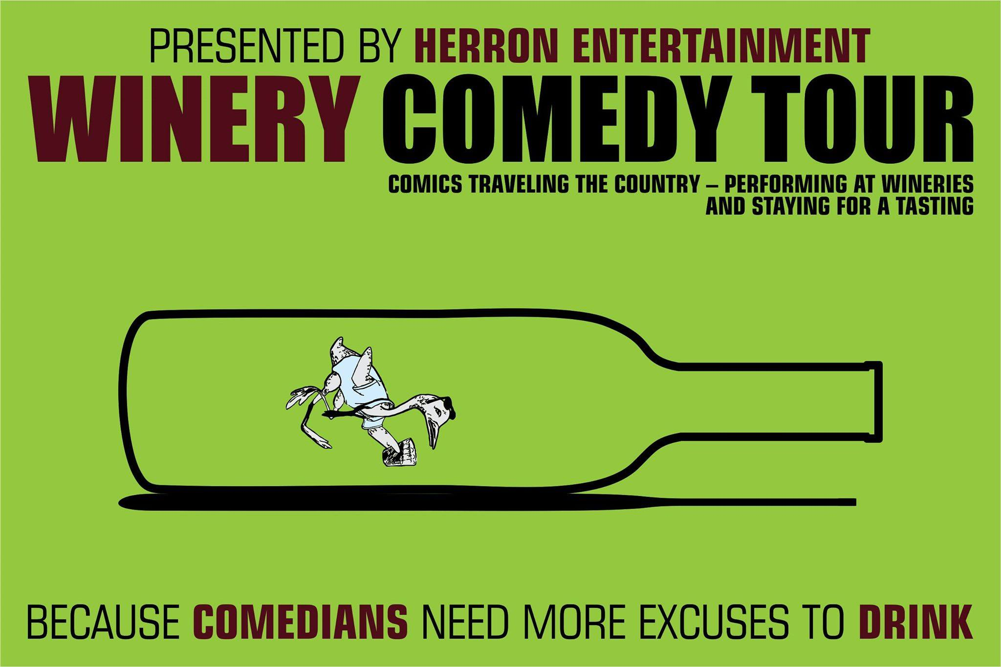 The Winery Comedy Tour at Marietta Wine Cellars