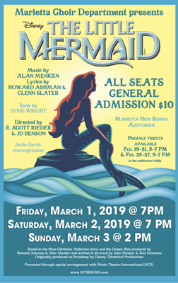 Marietta Choir Department presents The Little Mermaid