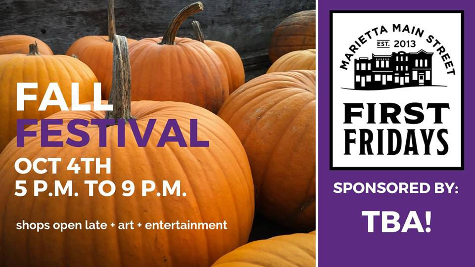 First Friday: Fall Fest