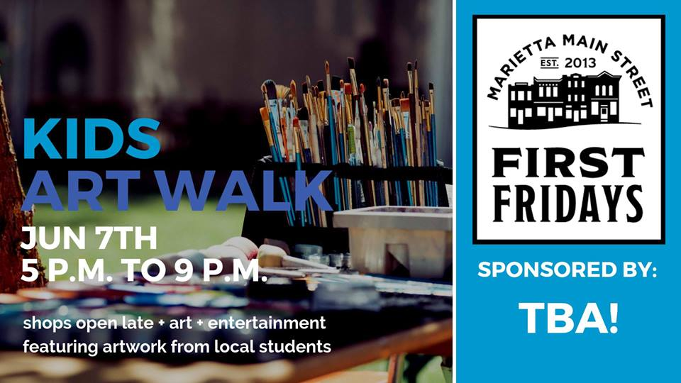First Friday: Kids Art Walk