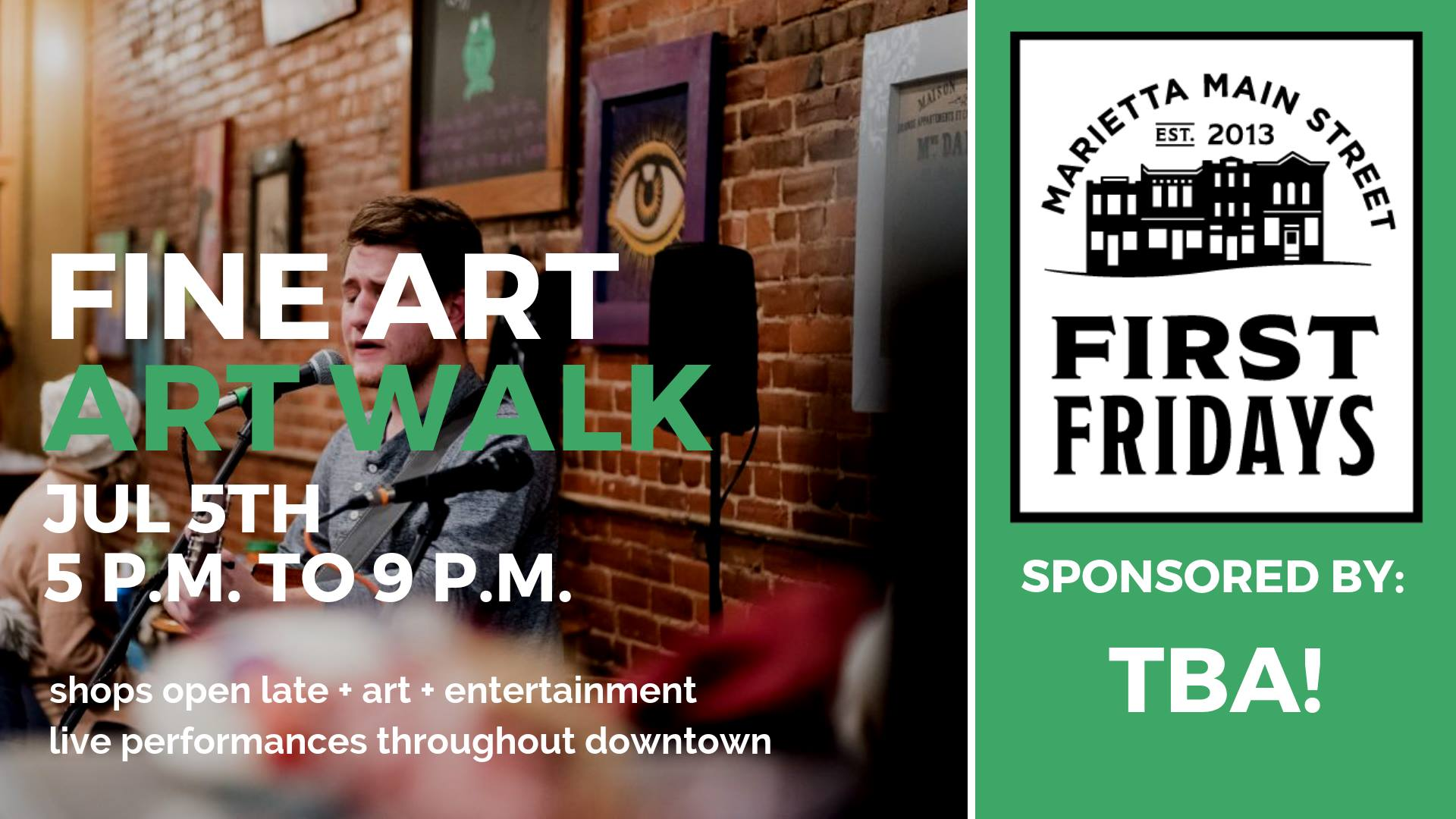 First Friday: Fine Art Walk