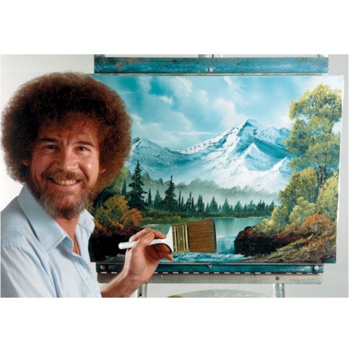 Bob Ross Paint along