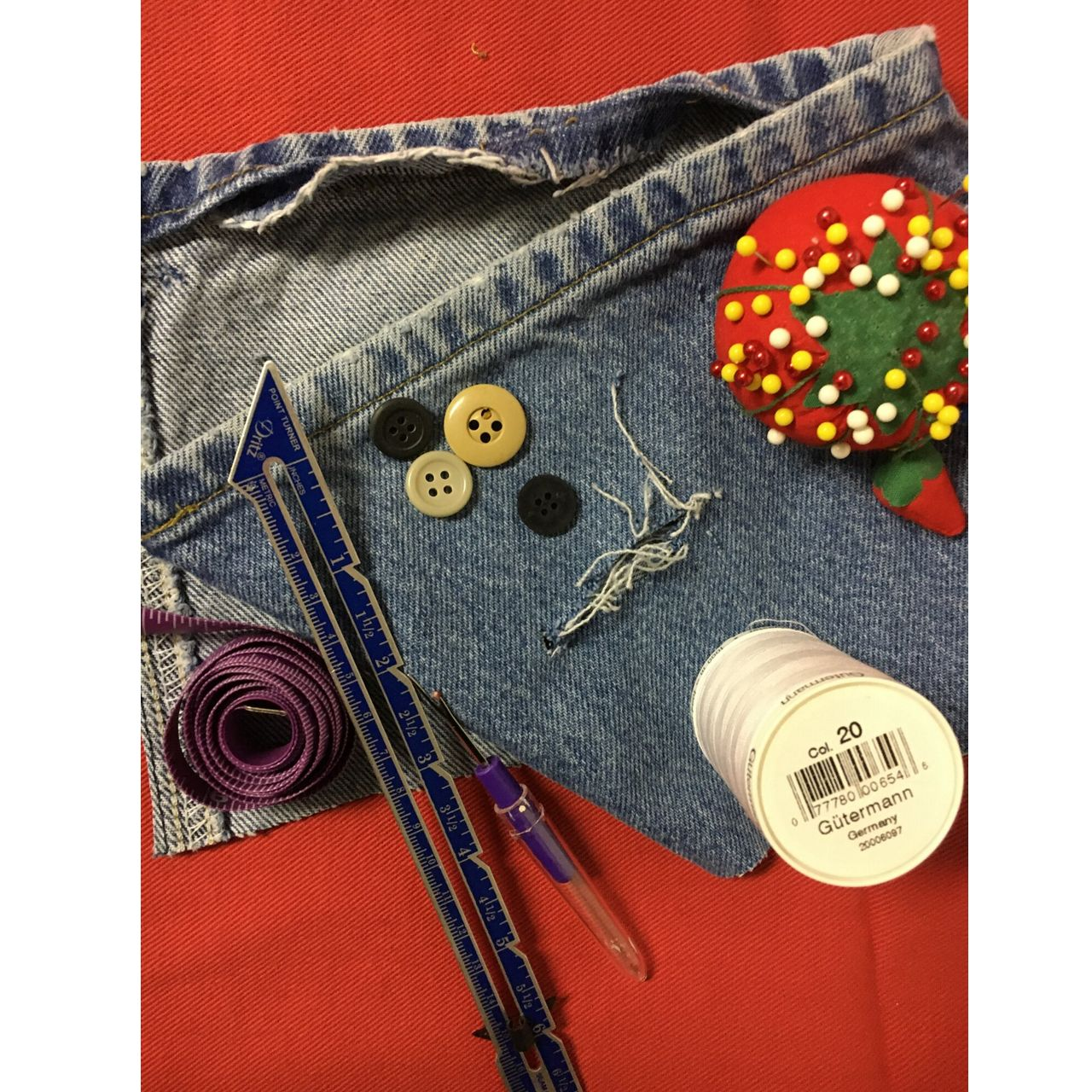 Mending Basics . . . Buttons, Hems and Patches