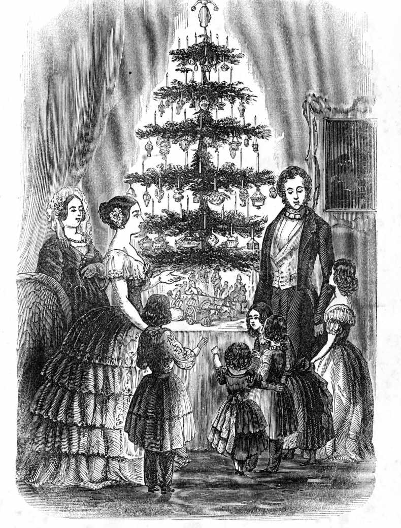 A Short History of Victorian Christmas Décor