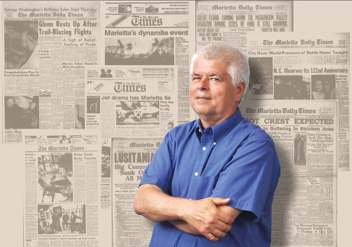 """Virtual Third Thursday Talk: """"Front Page News, A Journey Through Time"""" by Art Smith"""