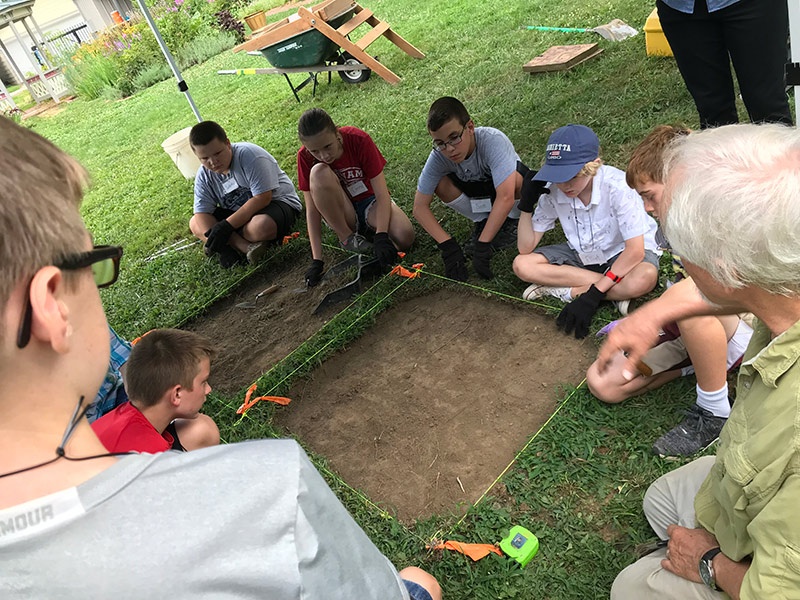 The Castle Summer Archaeology Camp
