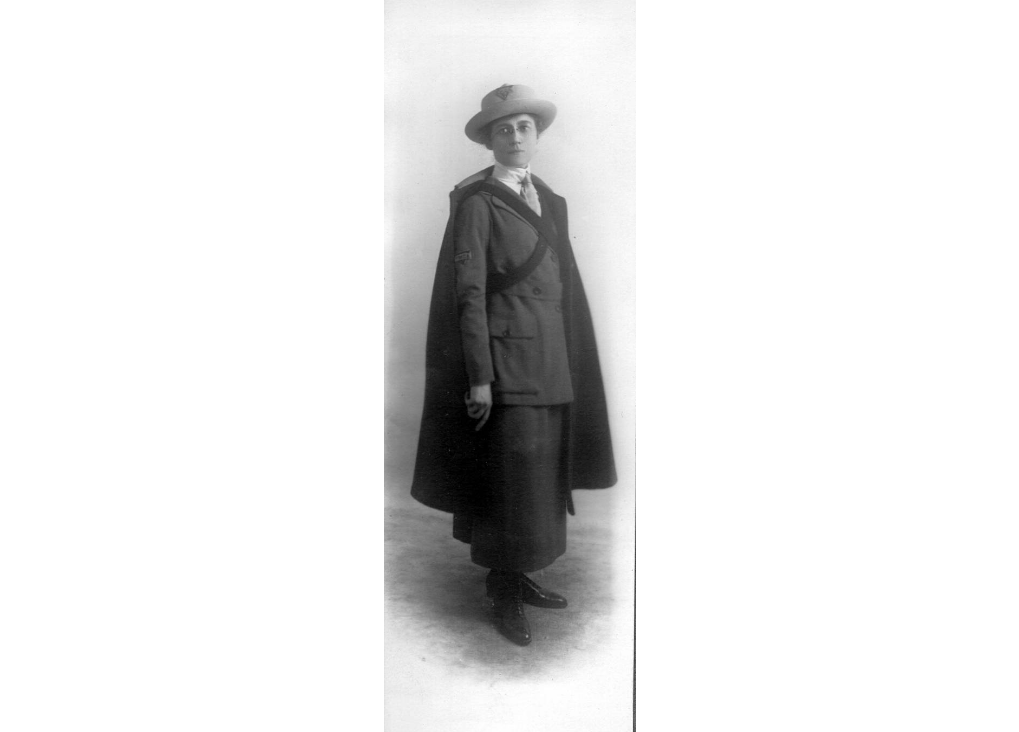 """Third Thursday Talk: """"On Military Leave with Flora Mason: A Marietta Musician's WWI Experience"""" By Claire Crane"""